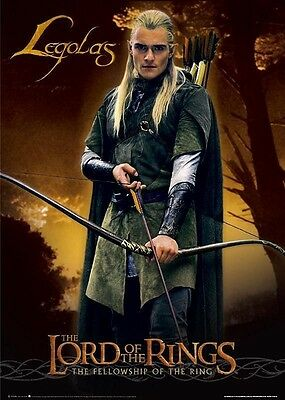 """Lord Of The Rings Legolas Poster / Orlando Bloom 24"""" X 36"""""""