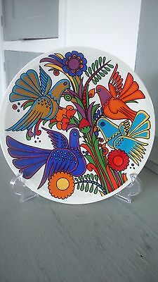 Flamboyant Acapulco Mexican Designed Decorative Plate