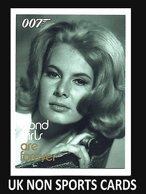 Quotable James Bond - Bond Girls are Forever BG29 Mollie Peters Patricia Fearing