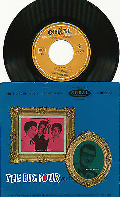 "BUDDY HOLLY & McGuire Sisters EP deutsche CORAL 94142 EPC ""The Big Four, Vol. 4"""