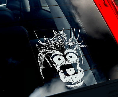 Pepe - Car Window Sticker - The Muppet Show Peeper The King Prawn Muppets Gift