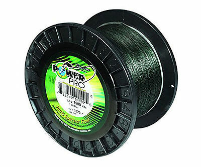 Power Pro Braided Spectra Fiber Fishing Line 30Lb 1500 YD green 21100301500G