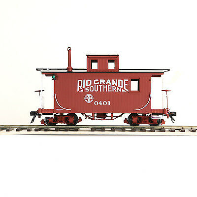ACCUCRAFT AMS AM53-015 On30 Short Caboose - RGS #0401 New