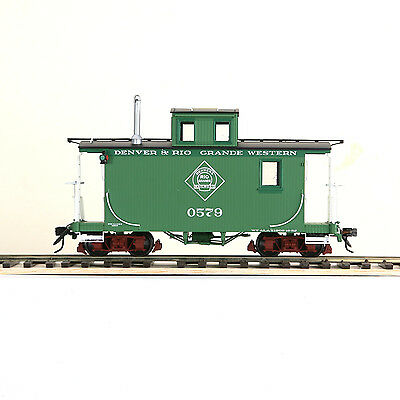 ACCUCRAFT AMS AM53-016 On30 Short Caboose - D&RG #0579 Green New