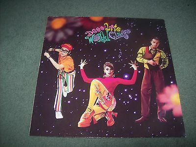 Deee-Lite - World Clique LP UK & Europe issue from 1990 on Elektra 7559-60957-1
