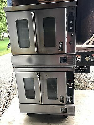 Montague Double Stack Convection Oven in Natural Gas