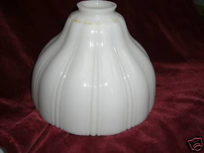 Milk GLASS Lamp  SHADE  Vintage  Ceiling globe