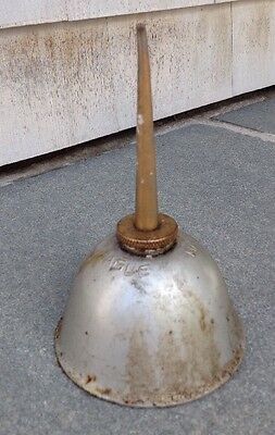 Eagle Vintage Oiler ~ Thumb Press Pump Oil Can
