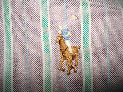 Polo Ralph Lauren Men's Classic Fit Dress / Casual Shirt Size 16 1/2 And 34-35