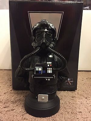 Gentle Giant Star Wars TIE fighter pilot mini bust