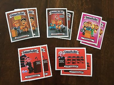 Garbage Pail Kids Republican National Convention Topps.com Online Set - 286 Made