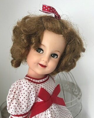 Large Vintage 1950s/60s IDEAL Shirley Temple Doll - Rare Flirty Eyes!!