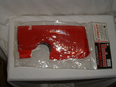 "Nokona Softball Sliding Knee Pad Large 17""-19"" Long Style New Red"