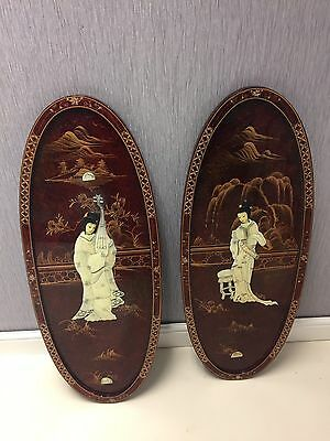 Japanese Wall Plaques