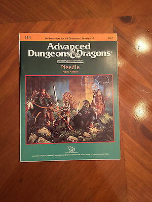 AD&D - I11 Needle - Dungeons And Dragons - TSR - 9187