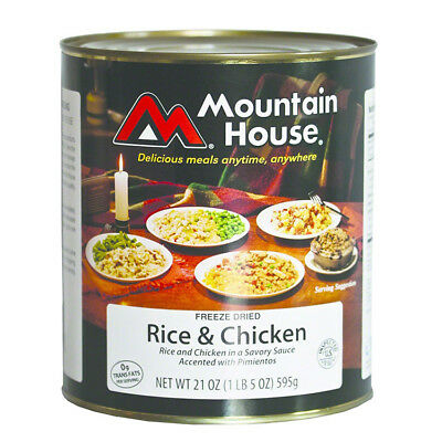 Mountain House 30105 #10 Can Rice &