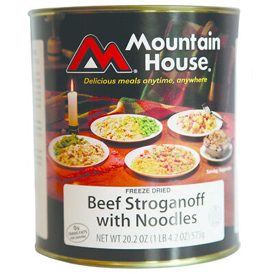Mountain House 30119 #10 Can Beef