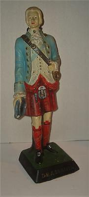 OLD Advertising COUNTER DISPLAY FIGURE Scotsman DRAMBUIE Prince Charles Liquer