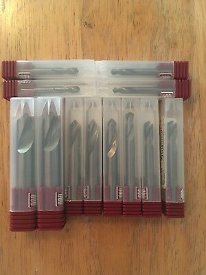 lot of (12) solid carbide spot drill