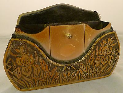 Rare Elgin Automobile Vanity or Smokers Caddy to hold Makeup/Cigarettes/Matches