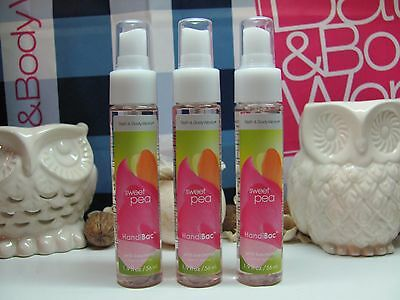 Bath and Body Works ( 3 ) ~ Sweet Pea ~ HandiBac Hand Spray