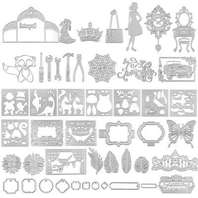 Pop Cutting Dies Stencil for DIY Scrapbooking Embossing Album Paper Cards Craft