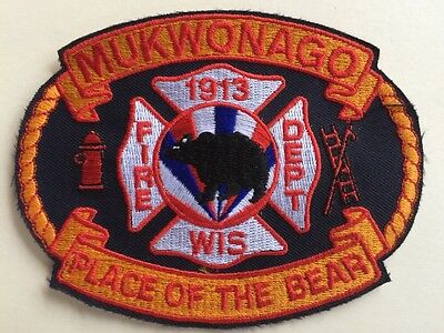 Mukwonago Fire Dept Wisconsin • Place Of The Bear Patch