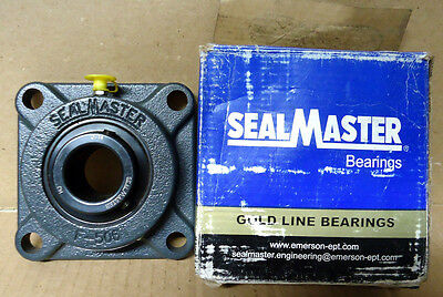 Sealmaster MSF-20 1-1/4 Gold Line 4 bolt flange Ball Bearing