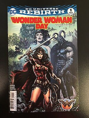 Wonder Woman Day Special Edition Nm  #1 Dc Universe Rebirth