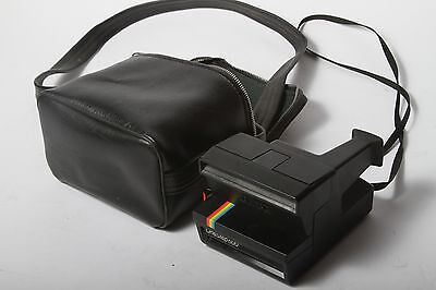 Polaroid One Step 600 Land Camera Rainbow Edition With Strap And Case!
