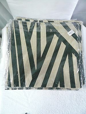 Cushion cover , decorative pillow cover . Covers only x 2