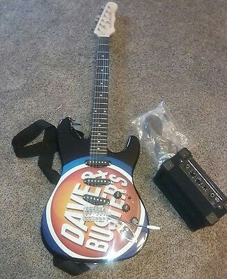 New Dave and Buster's D&B Electric Guitar with mini Amp.
