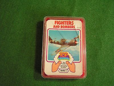 Vintage Top Trumps Fighters And Bombers 1970's Complete