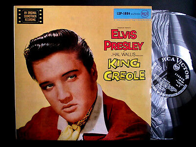 MINT Diff Label!!! 50s German LP STEREO RCA LSP-1884 King Creole ELVIS PRESLEY