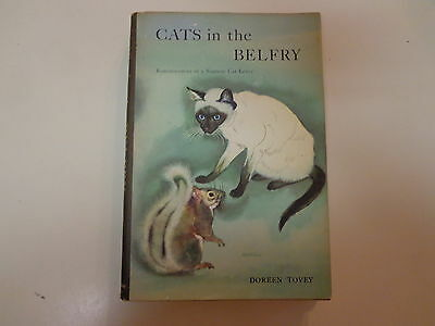 Cats in the Belfry – Reminiscences of a Siamese Cat Lover 1957 HBDJ Doreen Tovey