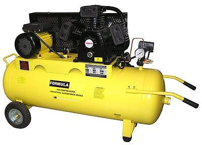 Air Compressor 240V 3.5Hp 19Cfm 110 Litre Workshop Quality*