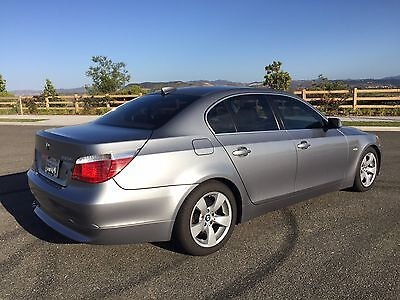 2006 BMW 5-Series 525I BMW 2006 525i 4 Door Sedan