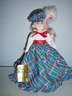 """EFFANBEE Grandes Dames 11"""" Doll Collection """"Vicki"""" 1983 Collectible #1156 w/Tag"""