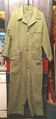 US Army HBT Tanker's Mechanics WWII WW2 Coveralls 13 Star Buttons USAAF