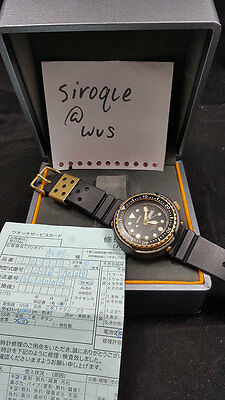 Seiko vintage golden tuna 1000m ssbs018 7c46-7009 serviced with papers Japan