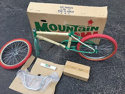 mountain dew bmx bike Mountain Rare Box Nos New 1980s Pop Store Display Soda