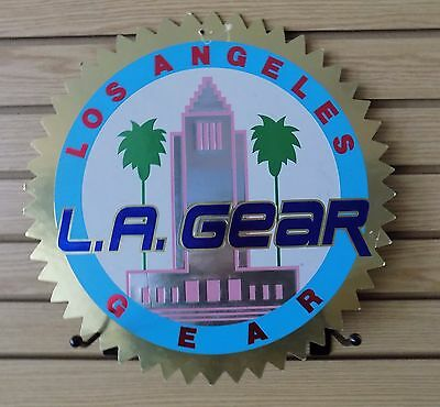 Vintage L.a. Gear Advertising Logo Double Sided