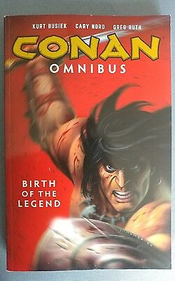 CONAN OMNIBUS VOL. 1: BIRTH OF THE LEGEND (2016) - VF/NM Dark Horse 1st Print