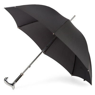 NEW Classic Canes Gents Formal Umbrella Chrome Handle
