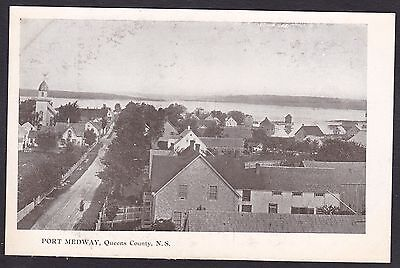 Circa 1905 Vintage Postcard PORT MEDWAY, Queens County, Nova Scotia, Canada