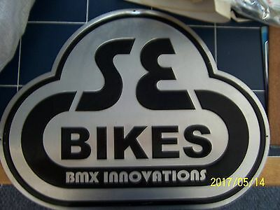 S. E. BIKES.... b m x  advertising sign