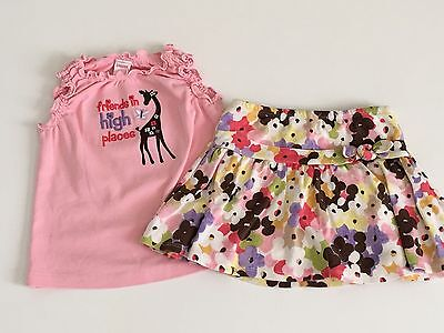 Gymboree Girls Summer Lot Size 4 Shorts, Tops (12 Items) 6 Outfits SEE ALL PICS