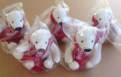 Coca Cola Arctic Polar Bears (Lot Of 5)