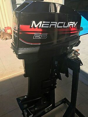 mercury 25 hp outboard
