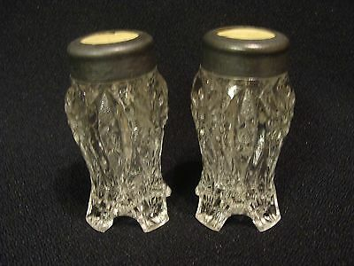 EAPG  Unknown Pair of Floral Shakers